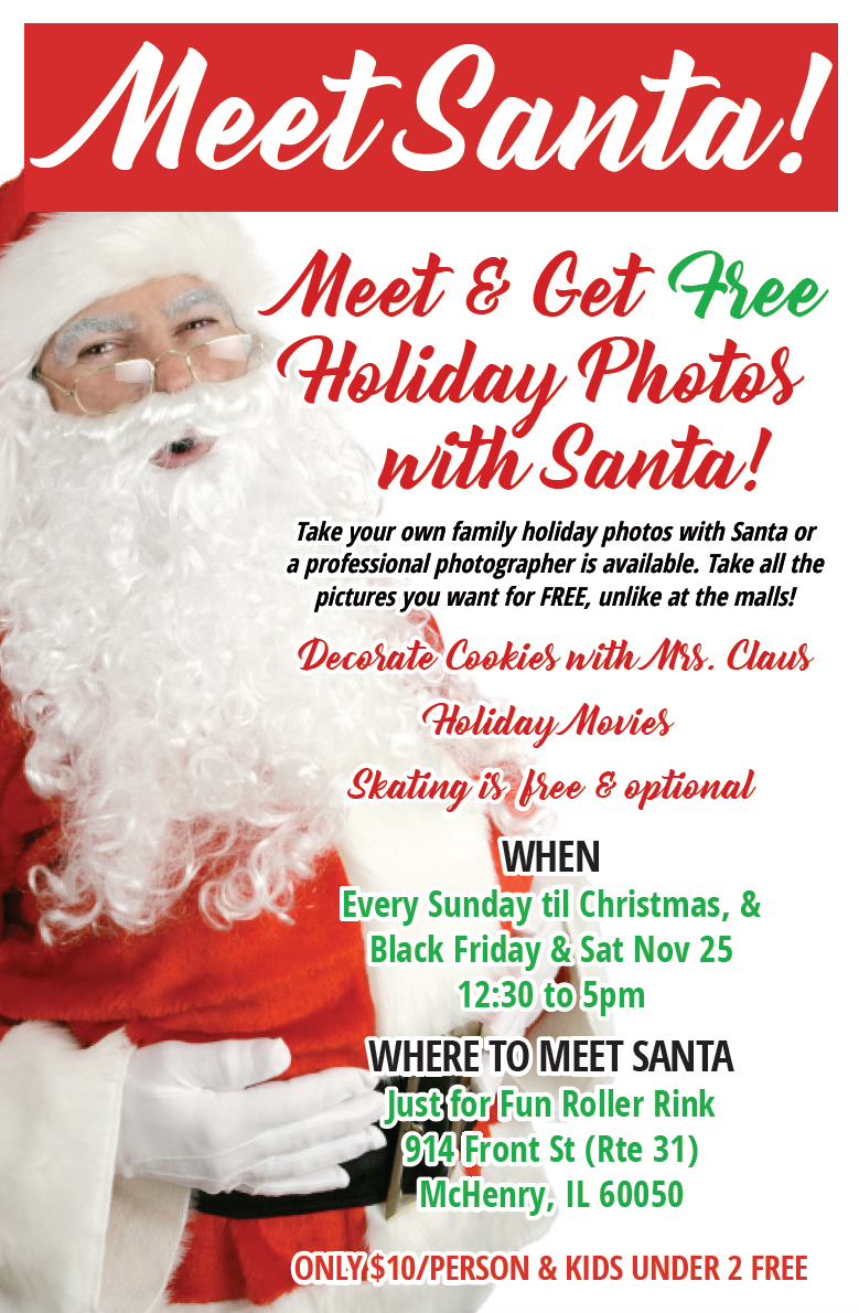 Meet Santa in McHenry