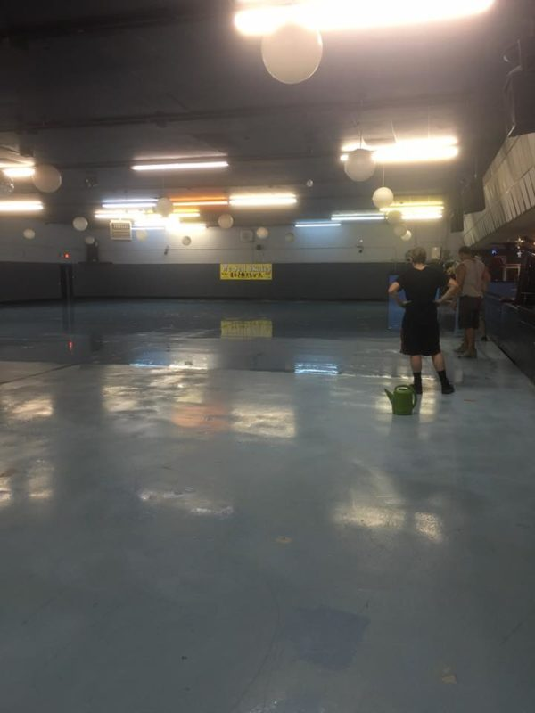 new floors in mundelein   pics   u2013 just for fun roller rinks