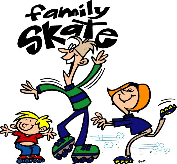 Family Fun Night Just For Roller Rinks